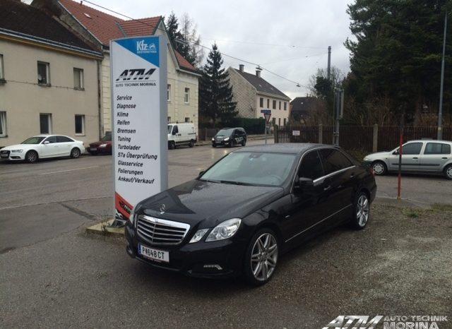 Mercedes-Benz W212 E350 CDI voll